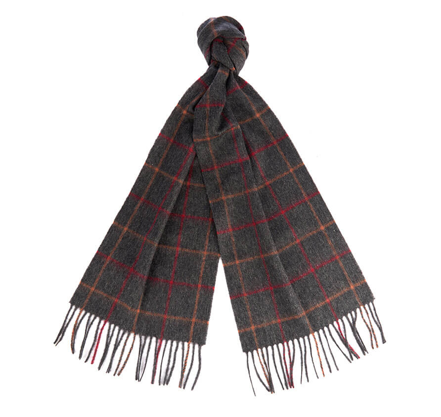 Barbour Men's Tattersall Lambswool Scarf