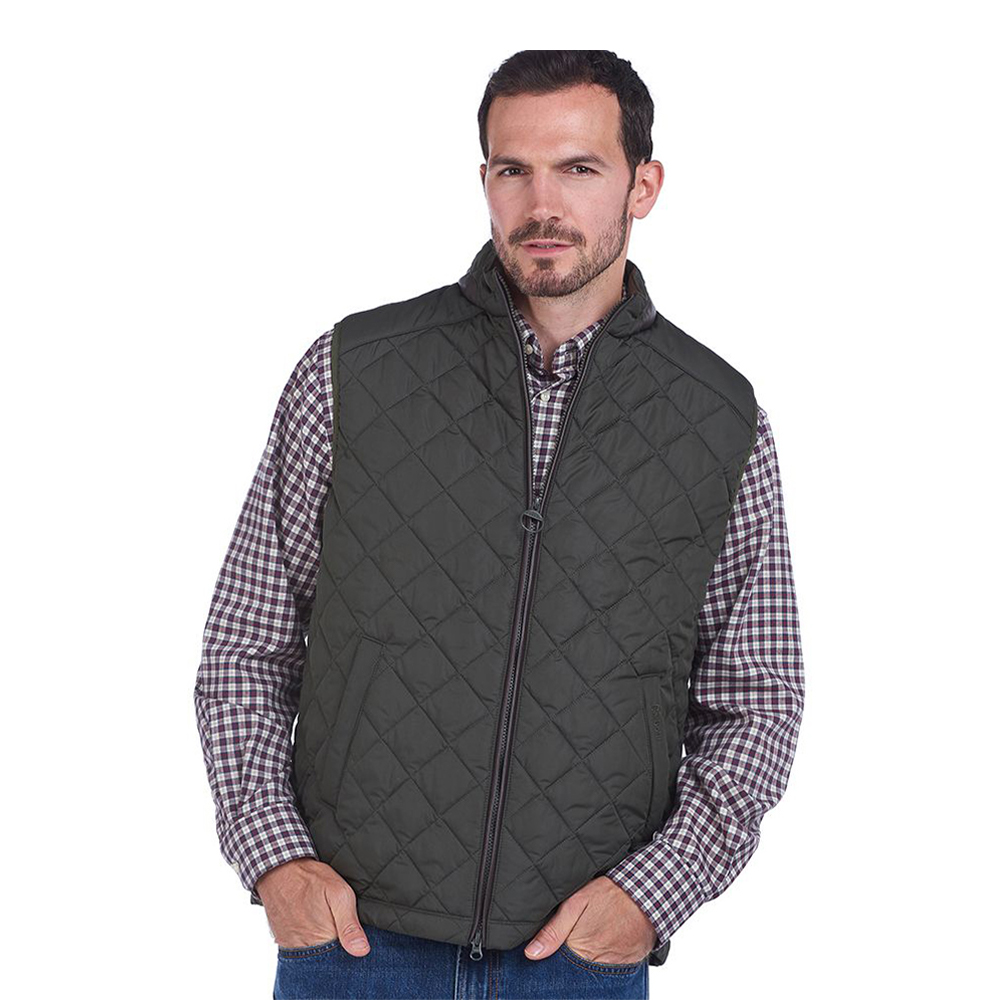 Barbour Mens Gillmark Gilet Green