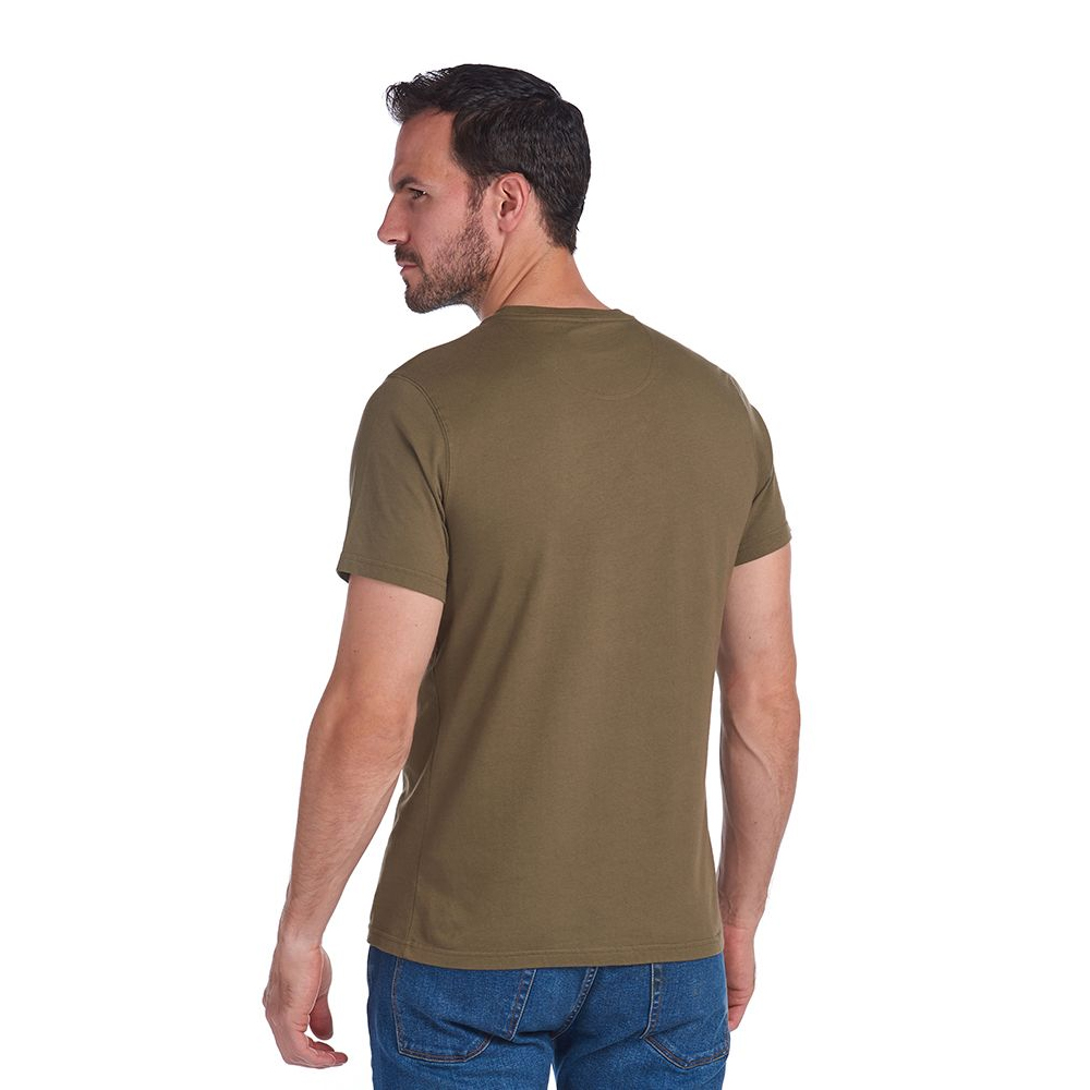 Barbour Sports Tee  Olive
