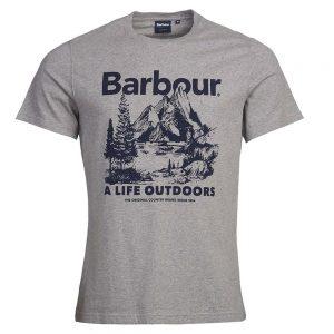 Barbour Outdoor Tee  Grey