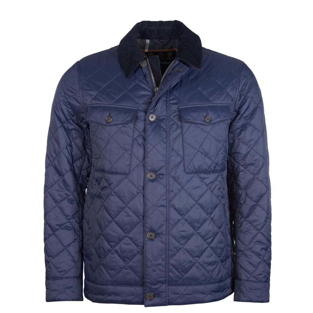 Barbour Maesbury Quilt Navy