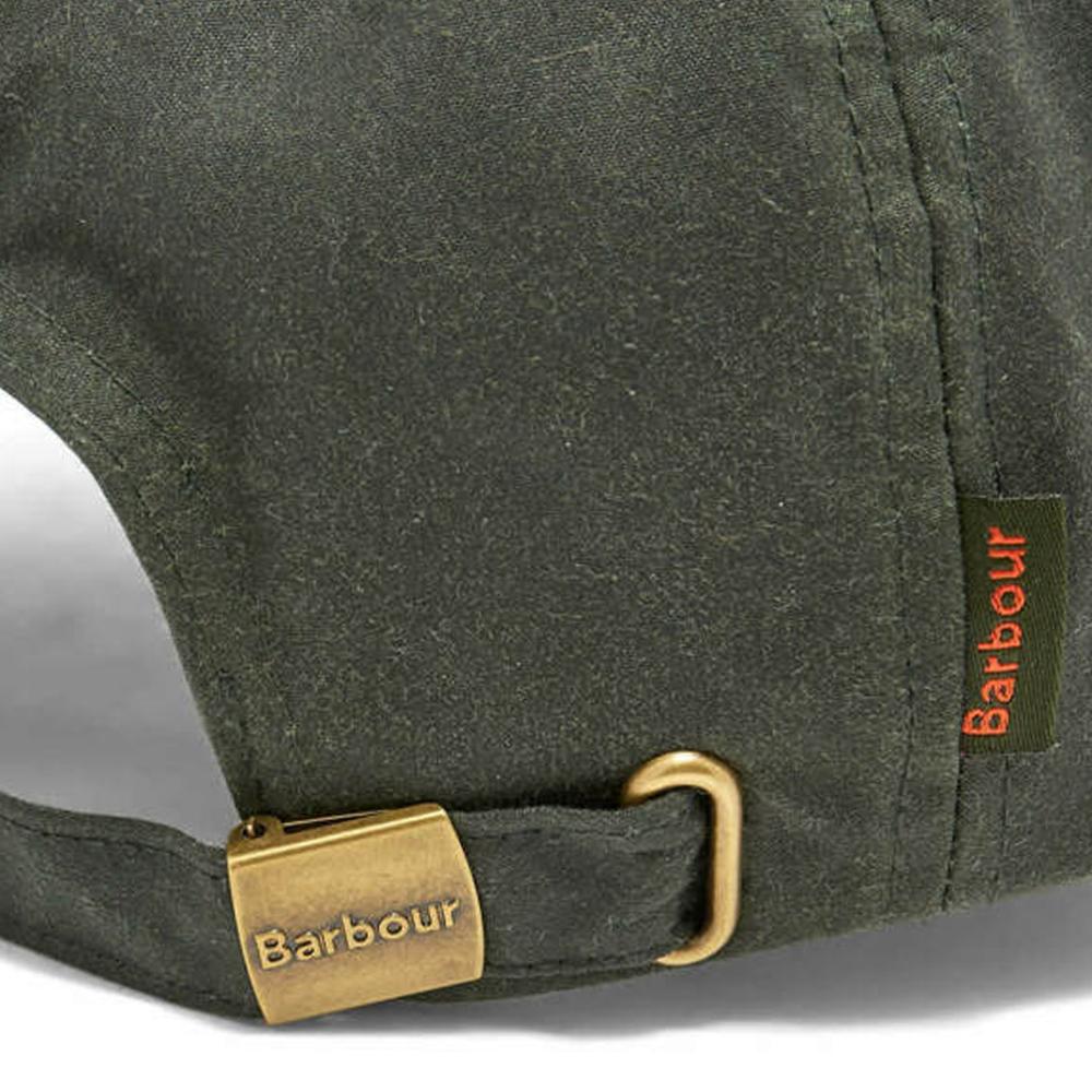Barbour Wax Sports Cap Green