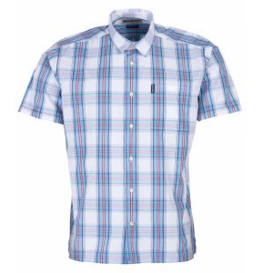Barbour Highland Check 30 Short Sleeve White