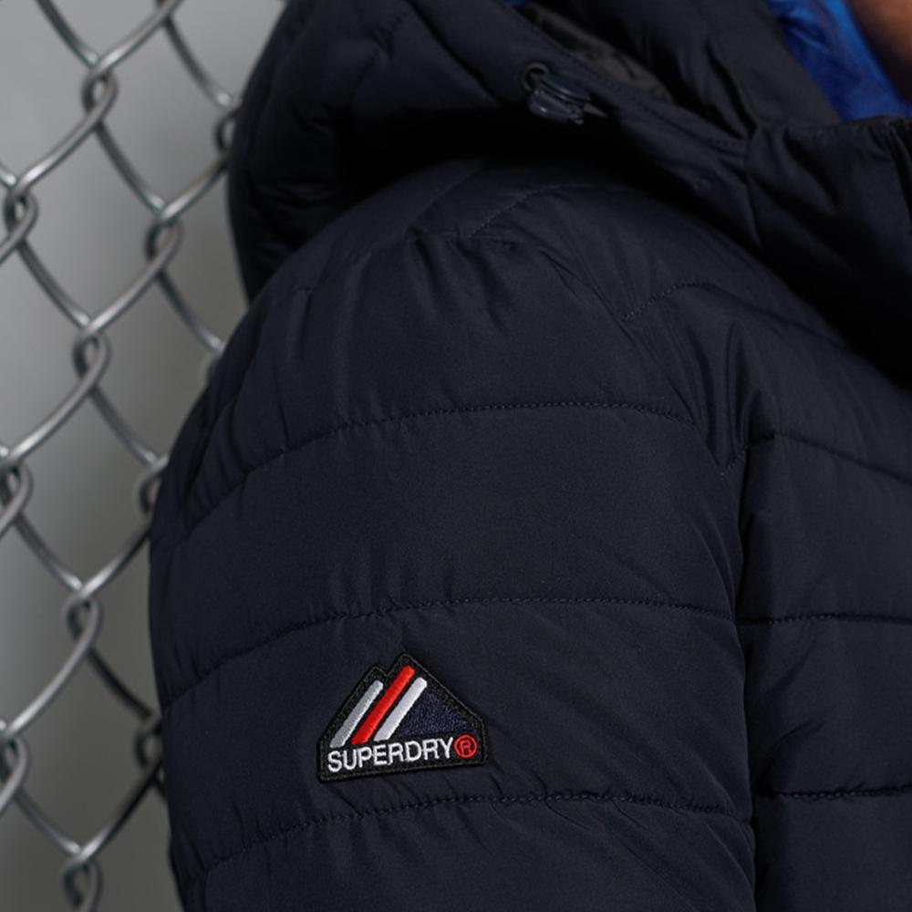 Hooded Fuji Jacket Navy