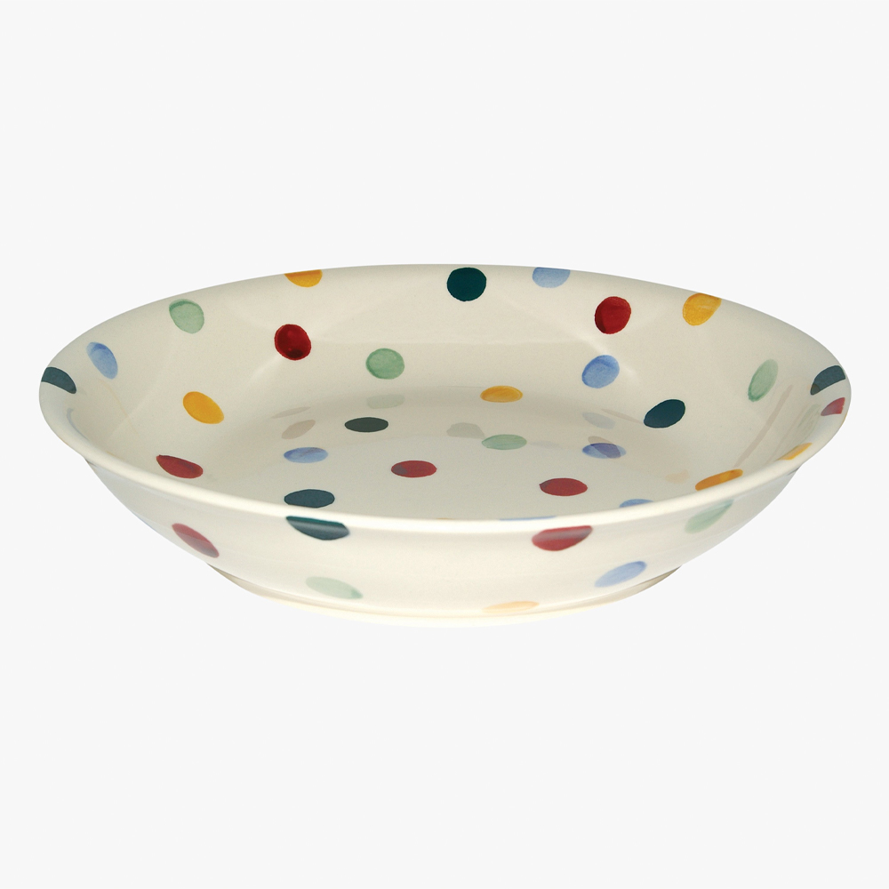 Emma Brigdewater Polka Dot Medium Pasta Bowl
