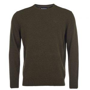 Barbour Essential Lambswool Crew Neck Sweater