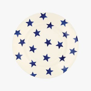 "Emma Bridgewater Blue Star 8 1/2"" Plate"