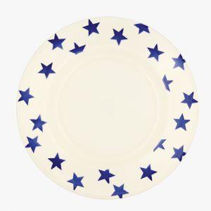"Emma Bridgewater Blue Star 10 1/2"" Plate"
