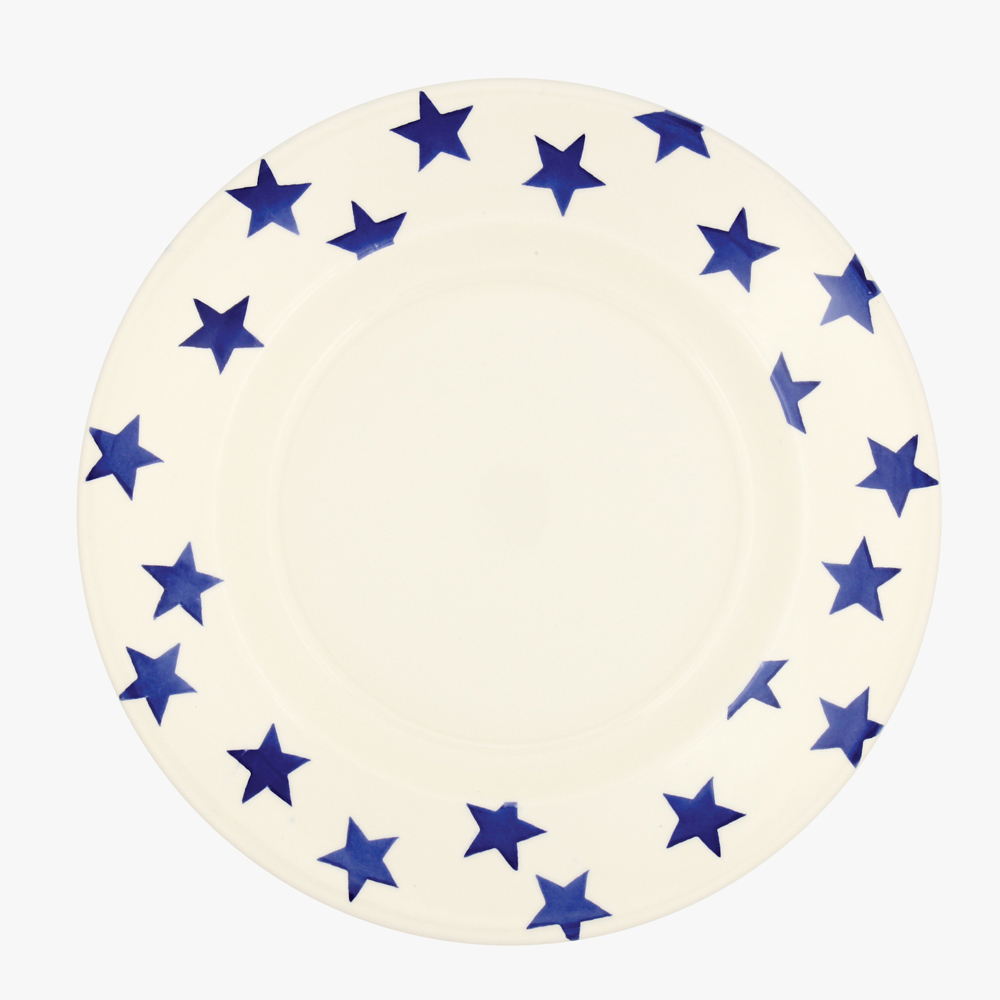 Emma Bridgewater Blue Star 10 1/2