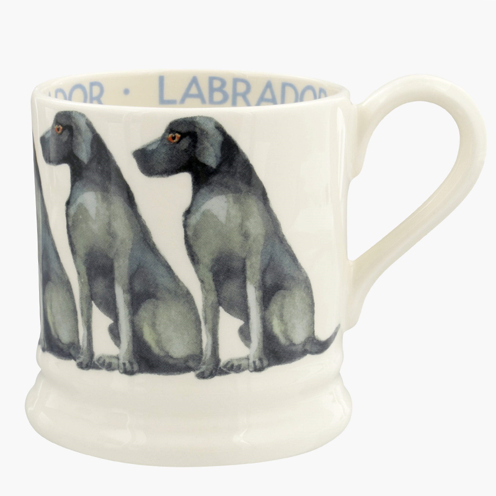 Emma Bridgewater Dogs Black Labrador 1/2 Pint Mug