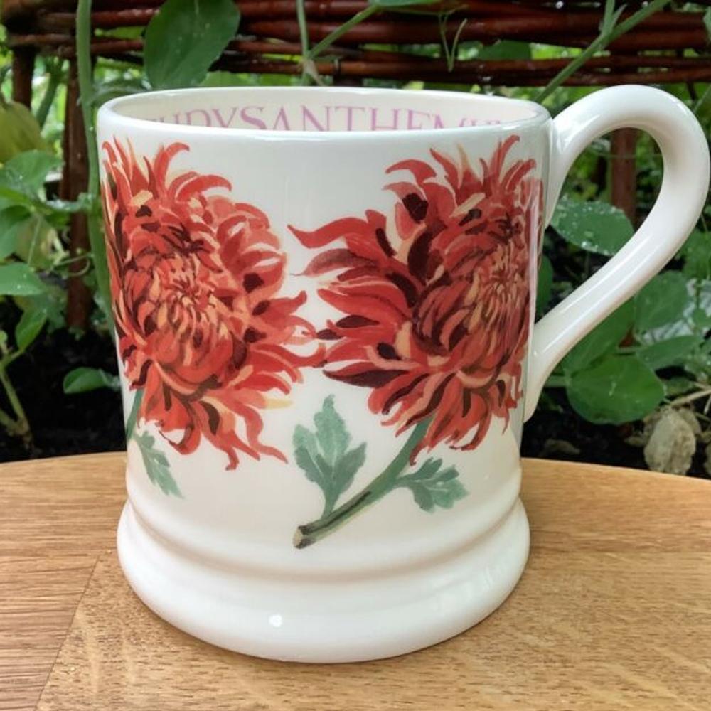 Emma Bridgewater Chrysanthemum 1/2 Pint Mug
