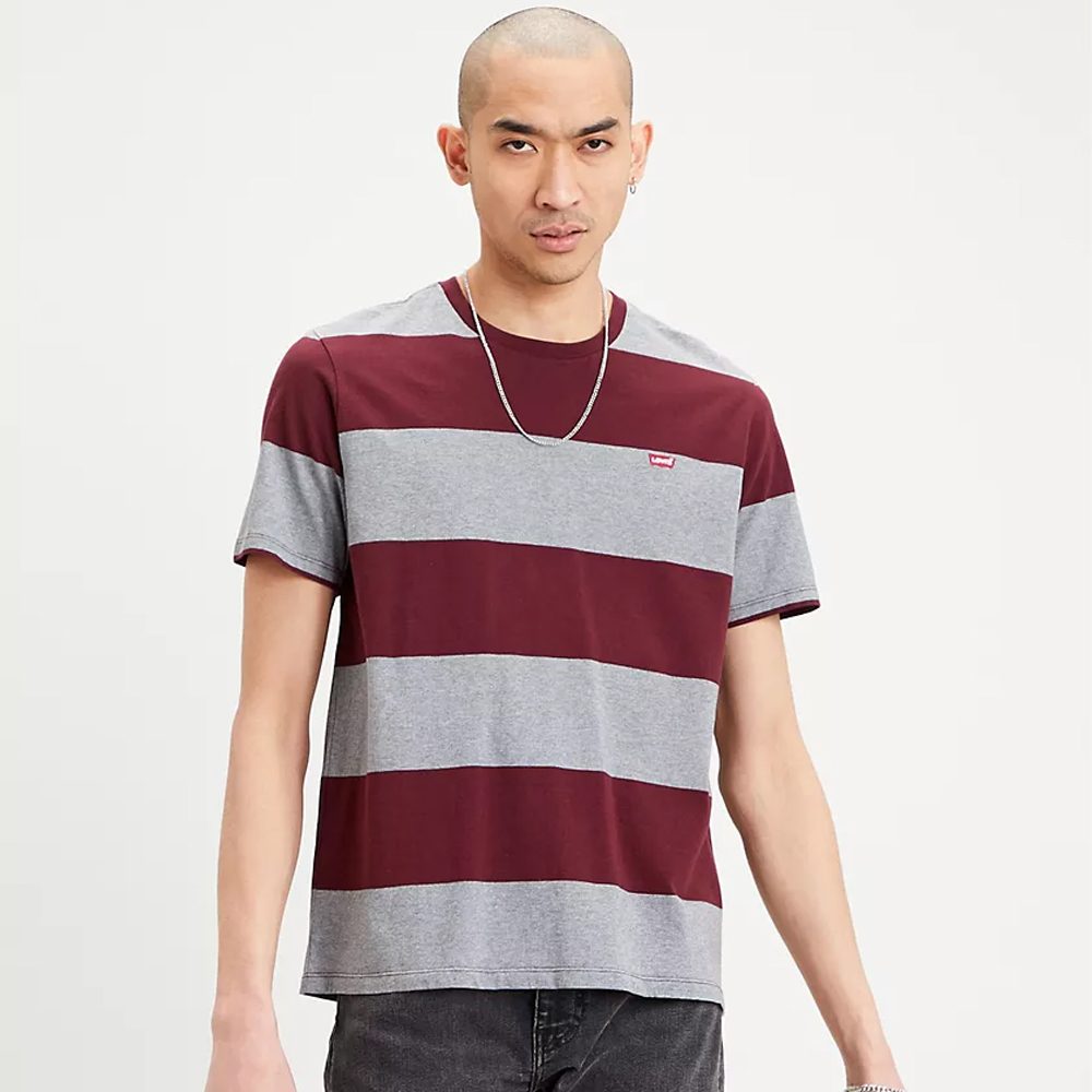 Levi's® Original Housemark Tee Rugby Strip