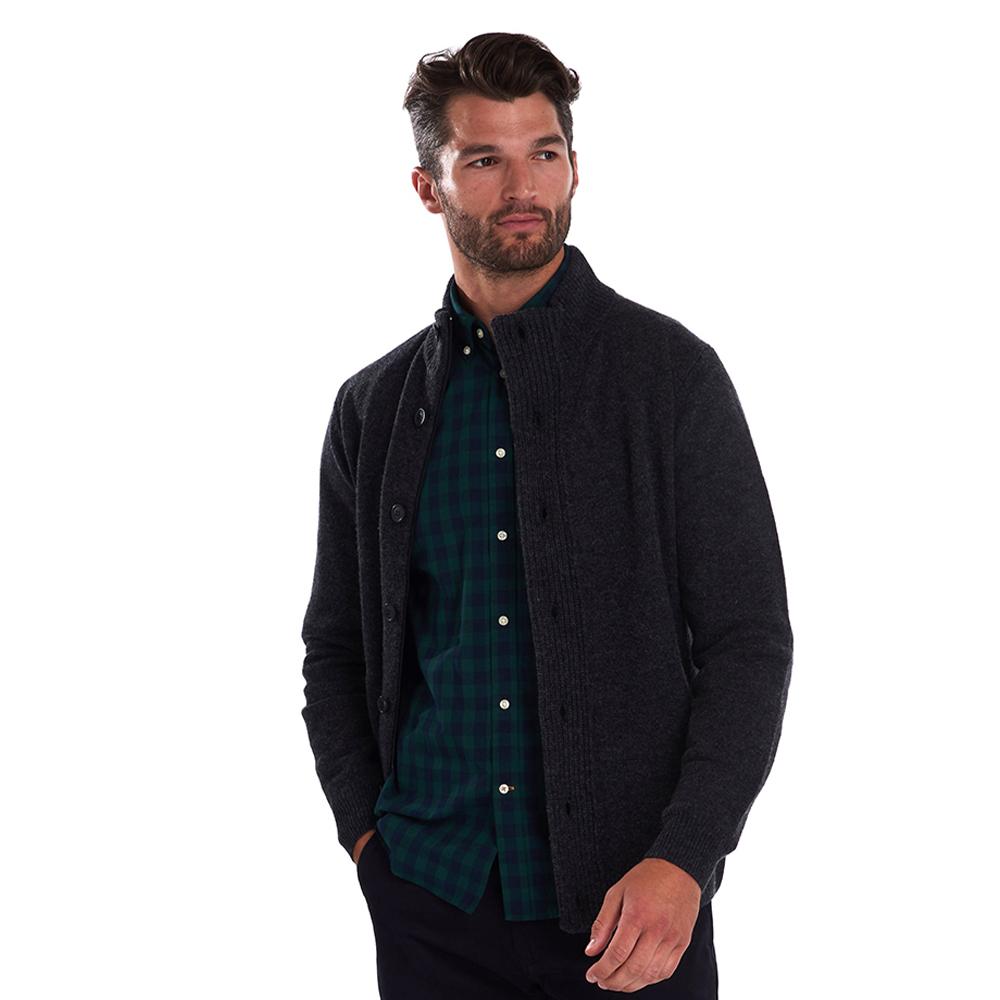 Barbour Patch Zip Thru Sweater