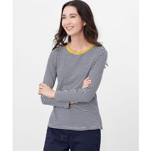 Joules  Selma Long Sleeve Jersey Top Navy