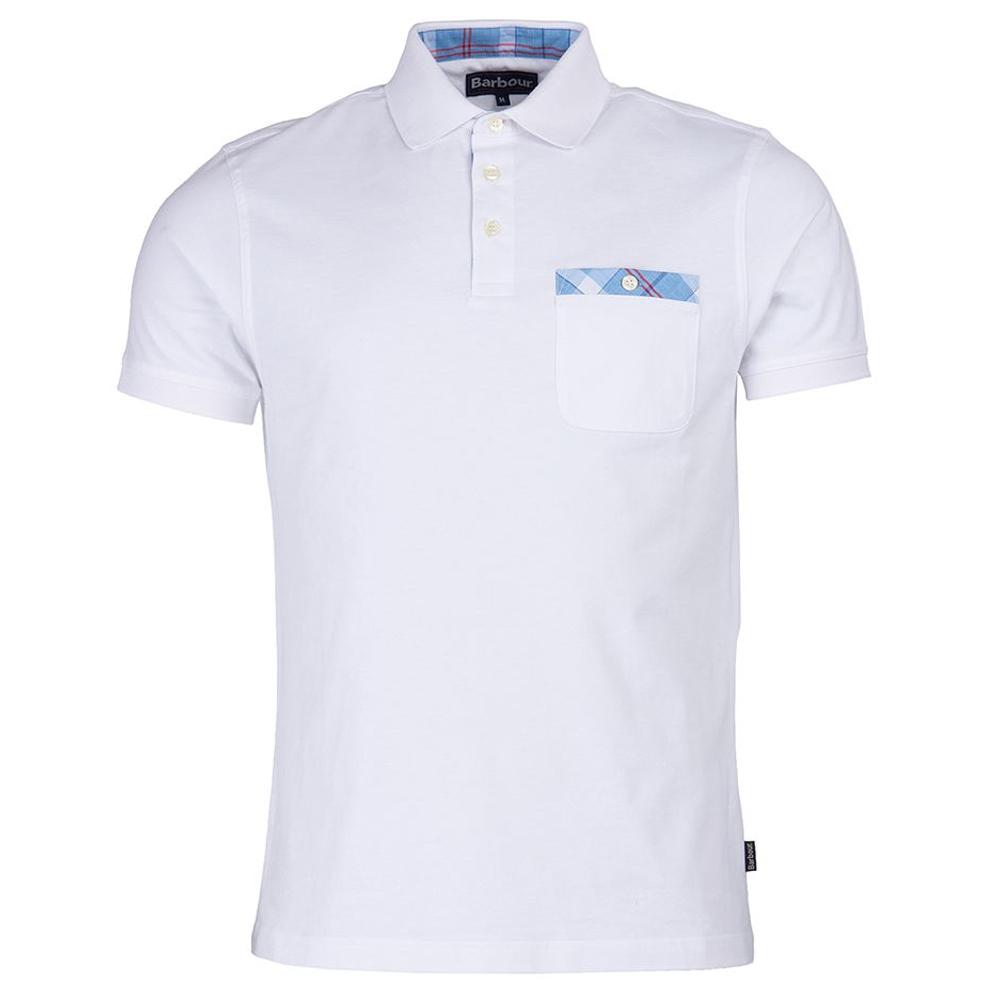 Barbour Tartan Pocket Polo Shirt