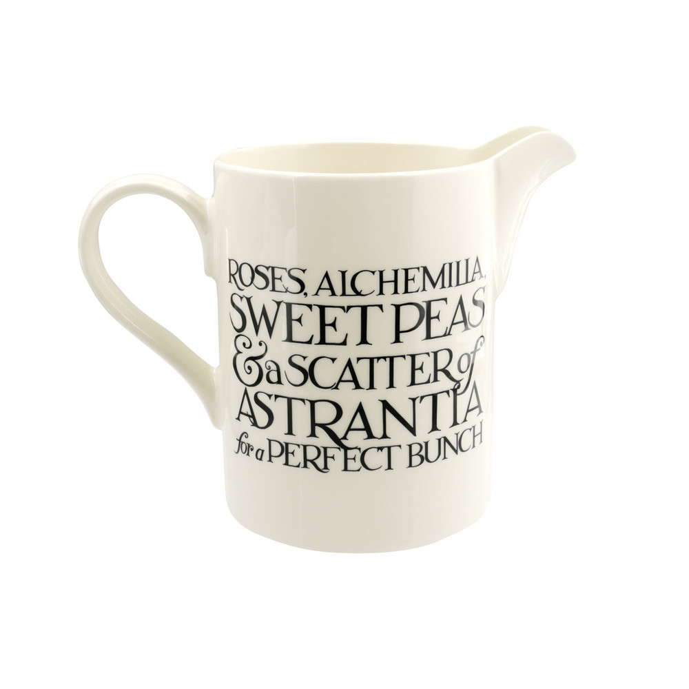 Emma Bridgewater Black toast  straight jug