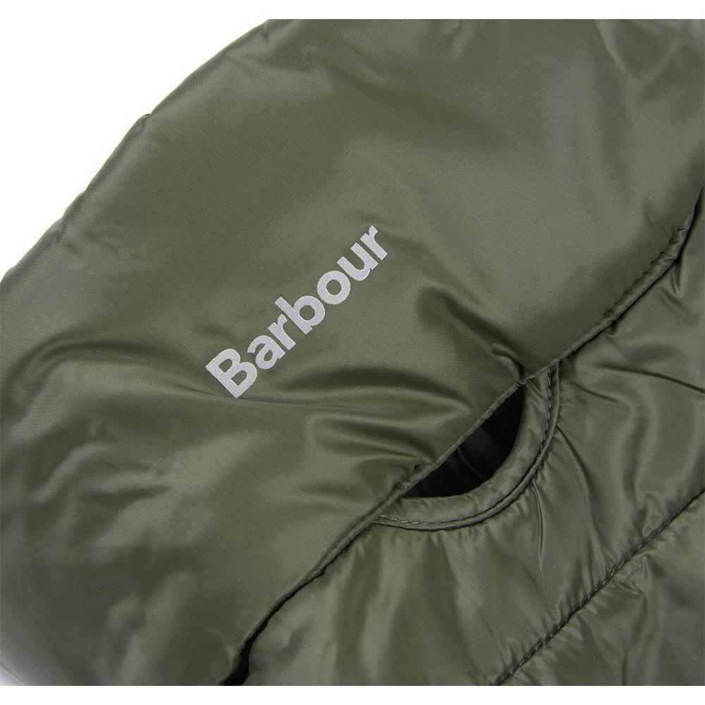 Barbour Dog Baffle Qu OLIVE/MEDIUM