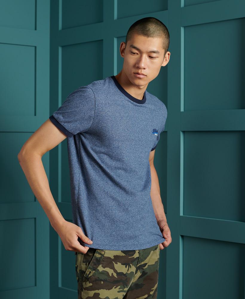 Superdry Orange Label Ringer T-Shirt