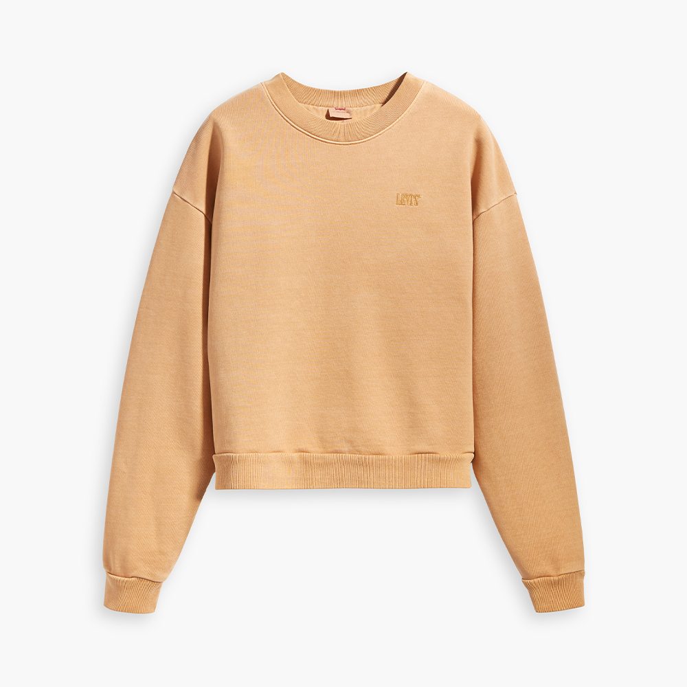 Diana Crewneck Jumper Iced Coffee Tight Loops