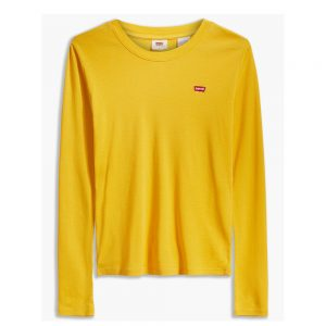 Long Sleeve Baby Tee Coast Gold