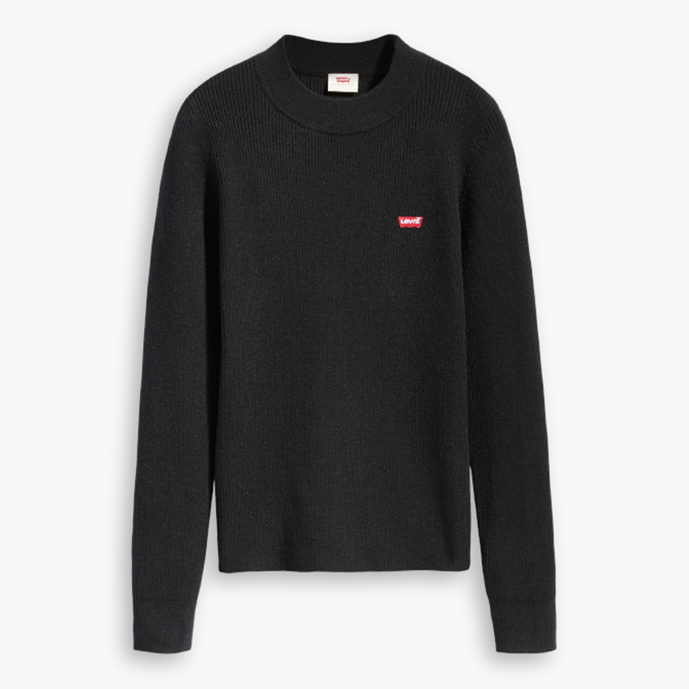 Rib Sweater Cavier Black