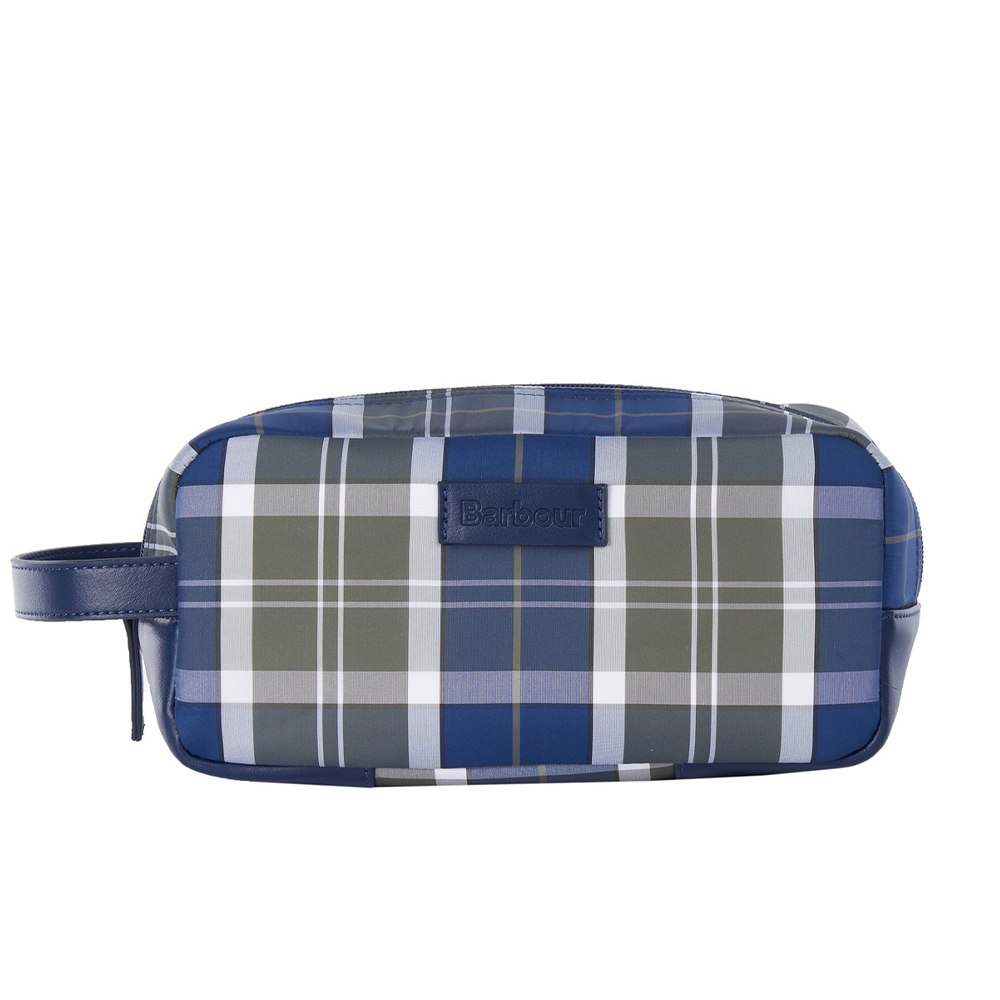 Barbour Wetherman Tartan Washbag