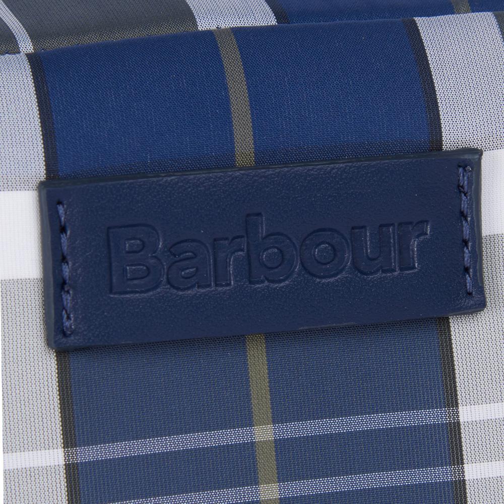 Barbour Wetherman Tartan Washbag