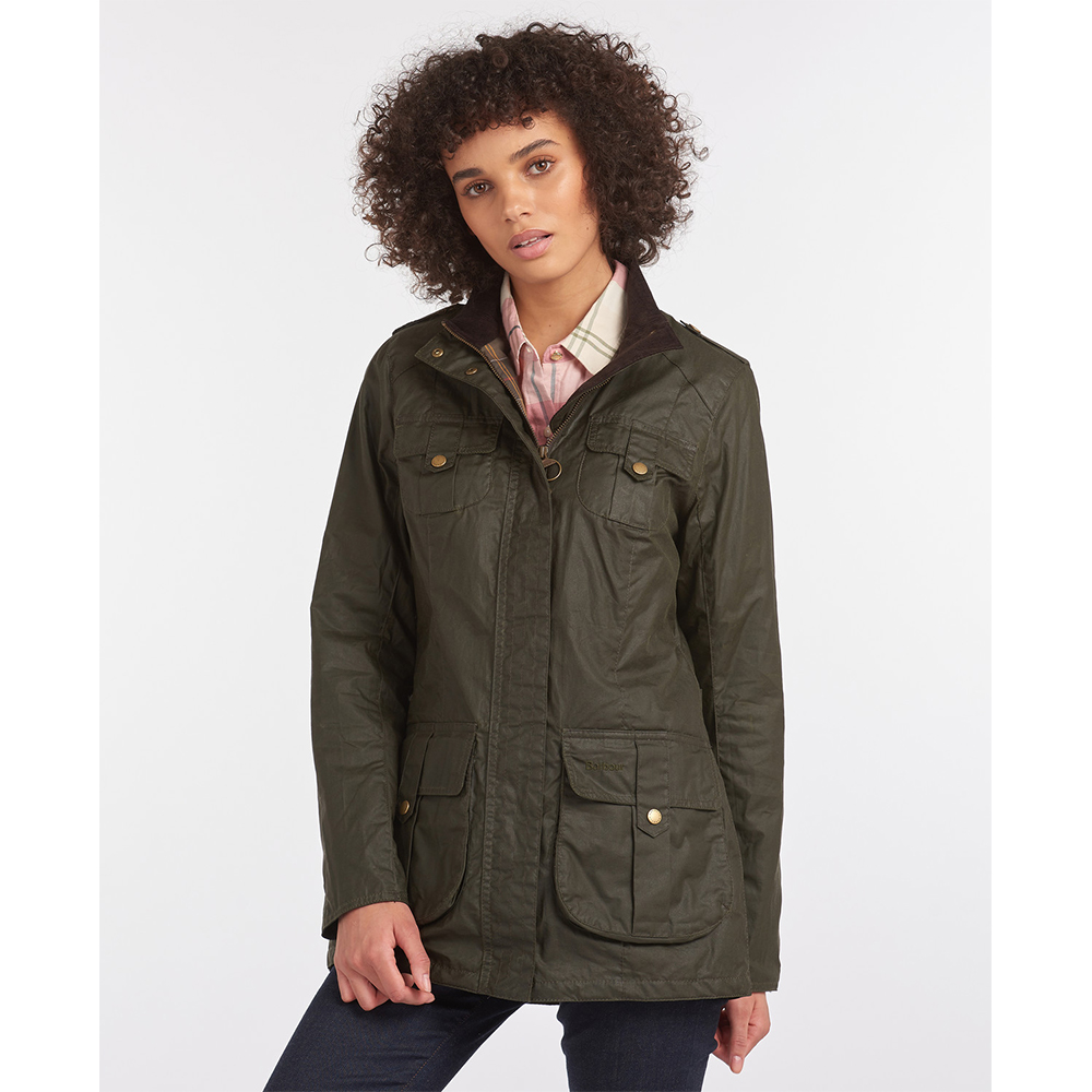 Barbour Defence Lightweight Waxed Jacket
