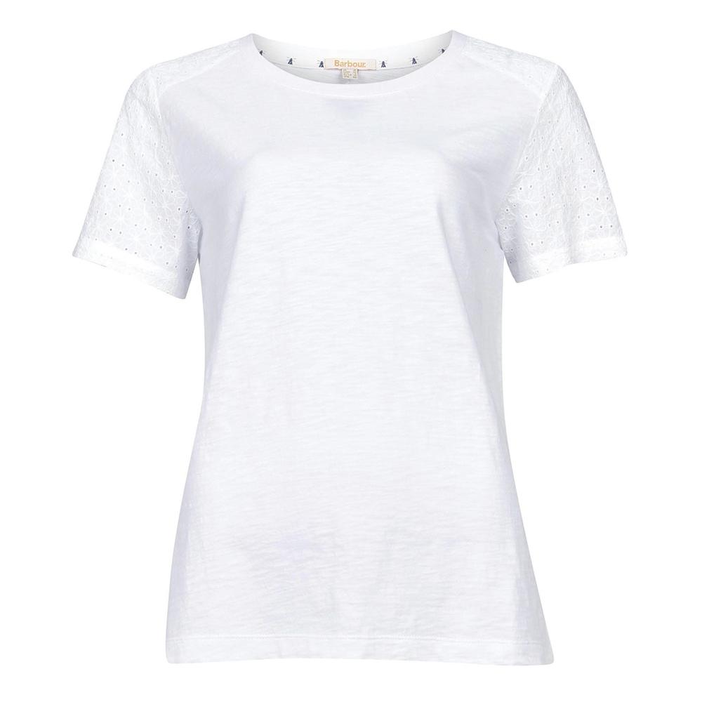 Barbour Springtide Top White   White/8