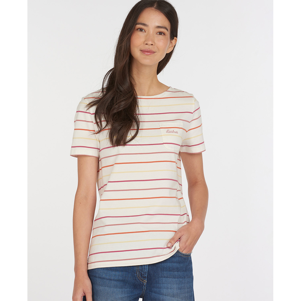 Barbour S/S Bradly Top Multi S Multi Stripe/8