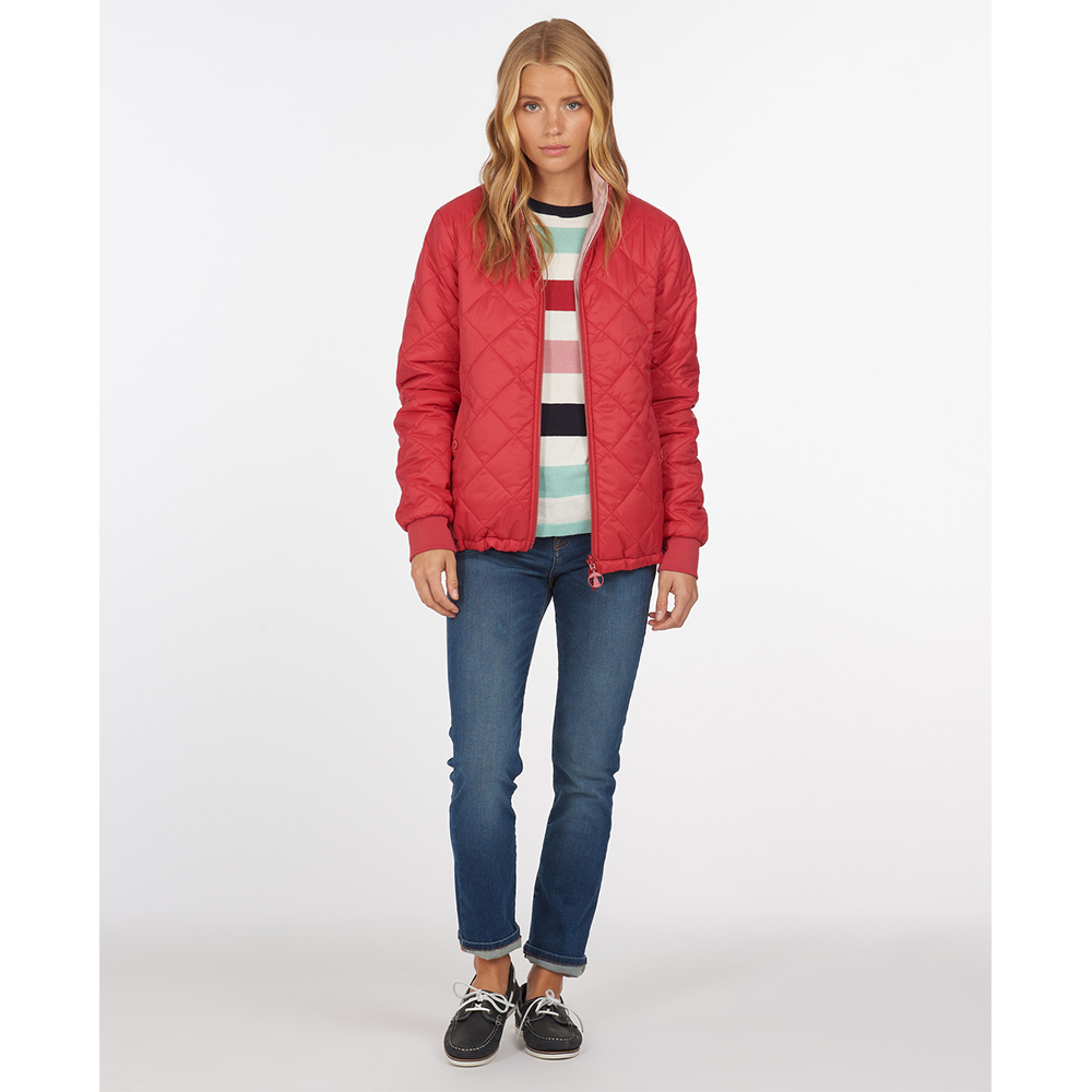 Barbour Southport Qu Ocean R Ocean Red/Blusher/8
