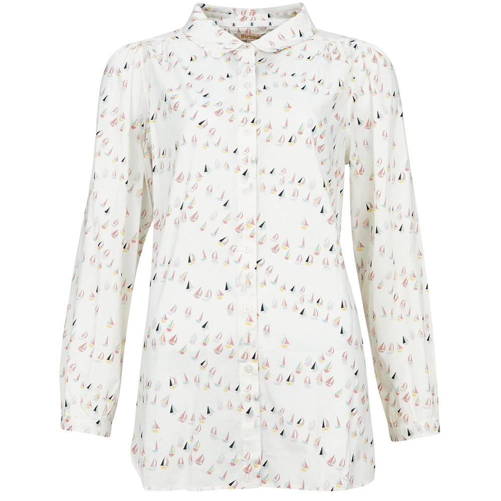 Barbour Padstow Shirt  Off Whi Off White/8