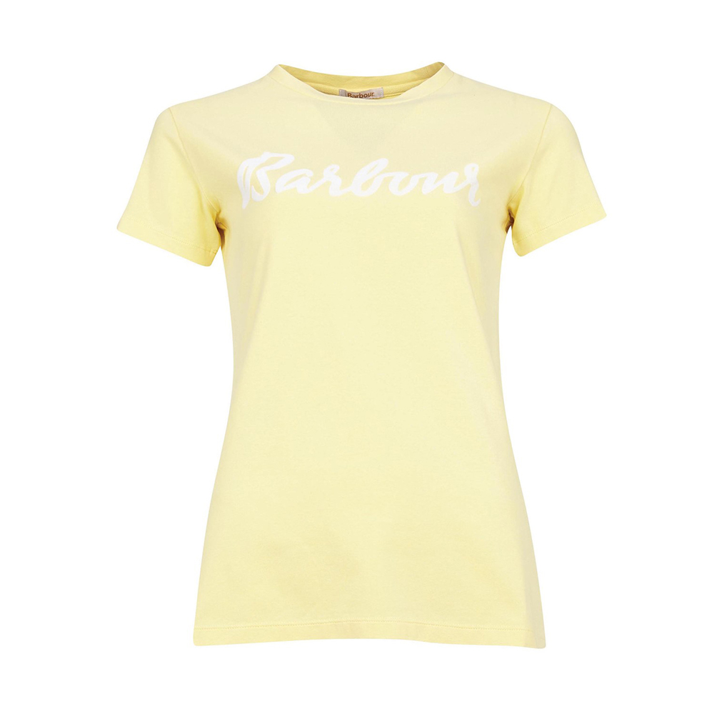 Barbour Rebecca Tee Yellow Haz Yellow Haze/8
