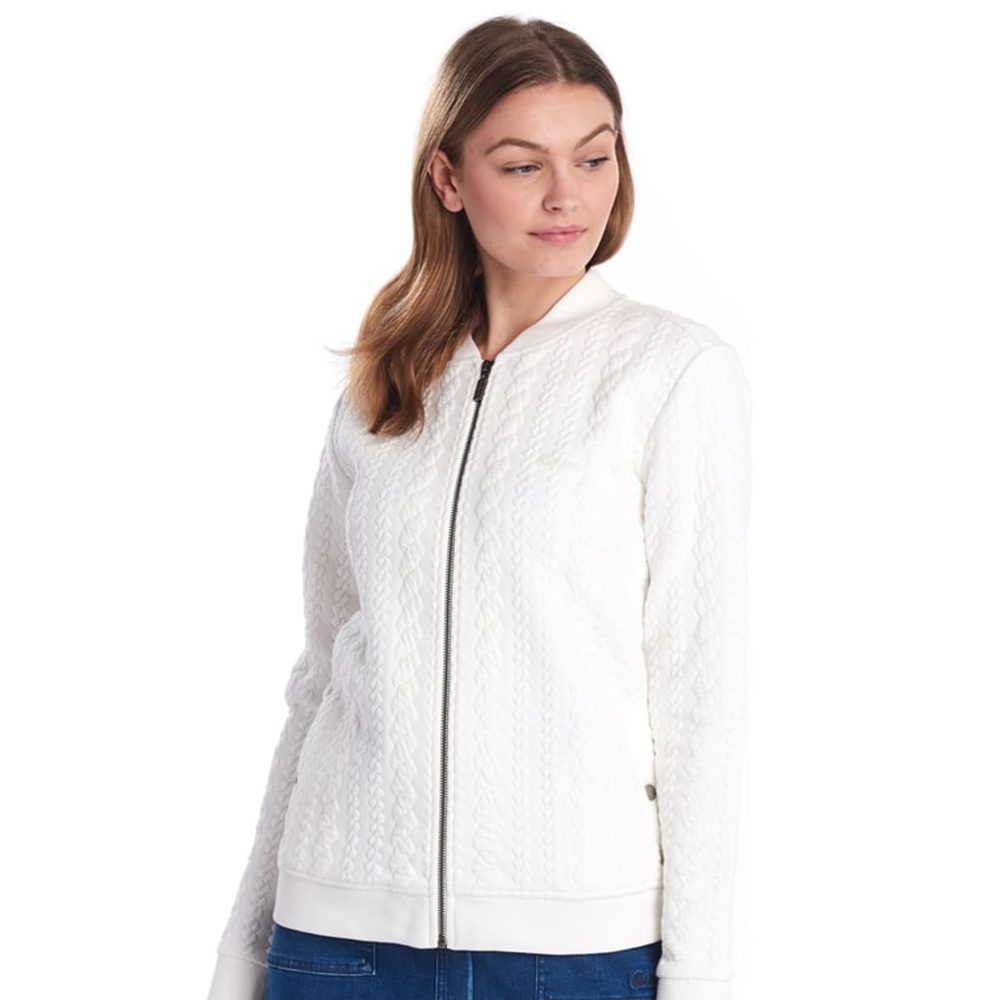 Barbour Kelsey Olayer  Off Whi Off White/8