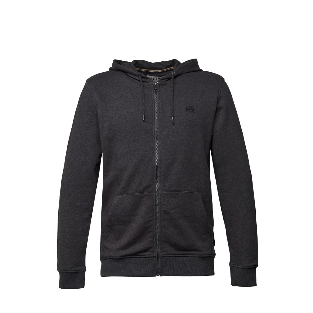 Esprit Recycled: sweatshirt cardigan with organic cotton