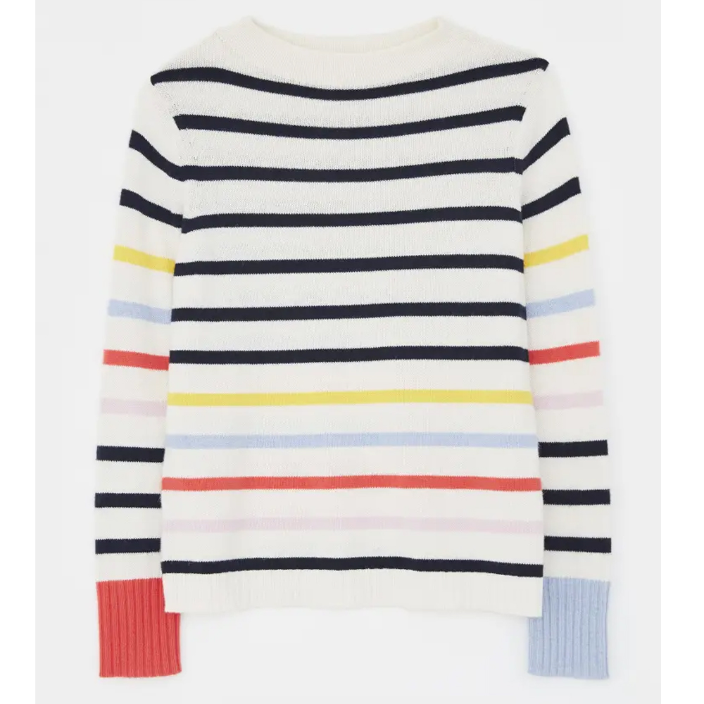 White Stuff Rainbow Jumper