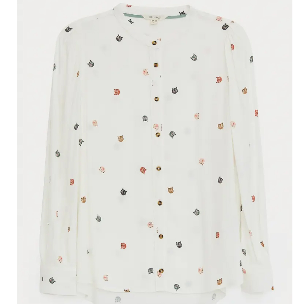 White Stuff Alaia Shirt  Ivory