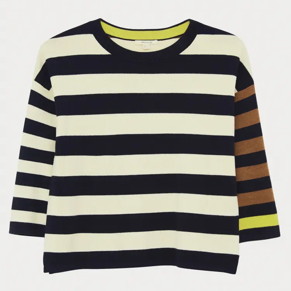 White Stuff Isabel Stripe Jumper