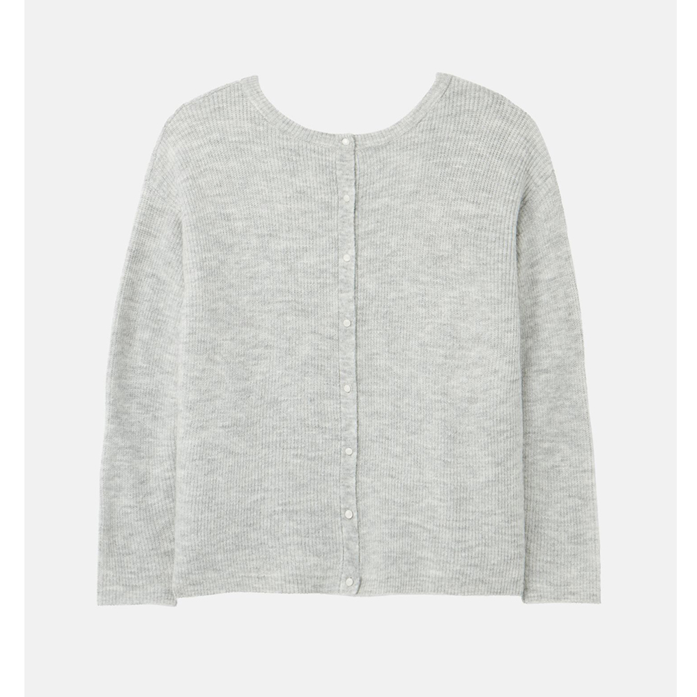 Joules  Rosy Knitted Reversible Button Up Cardigan
