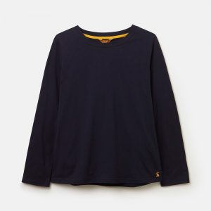 Joules Selma Solid Long Sleeve Jersey Top