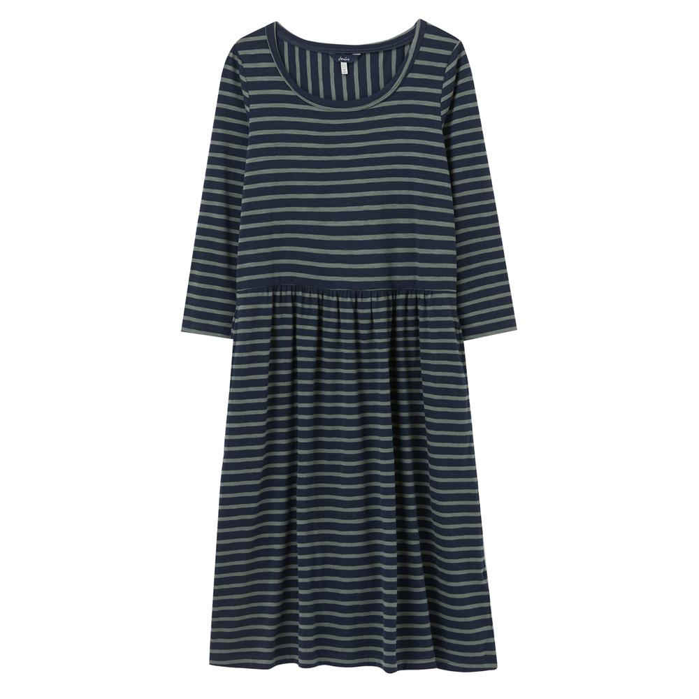 Joules Milana Dropped Waist Jersey Dress