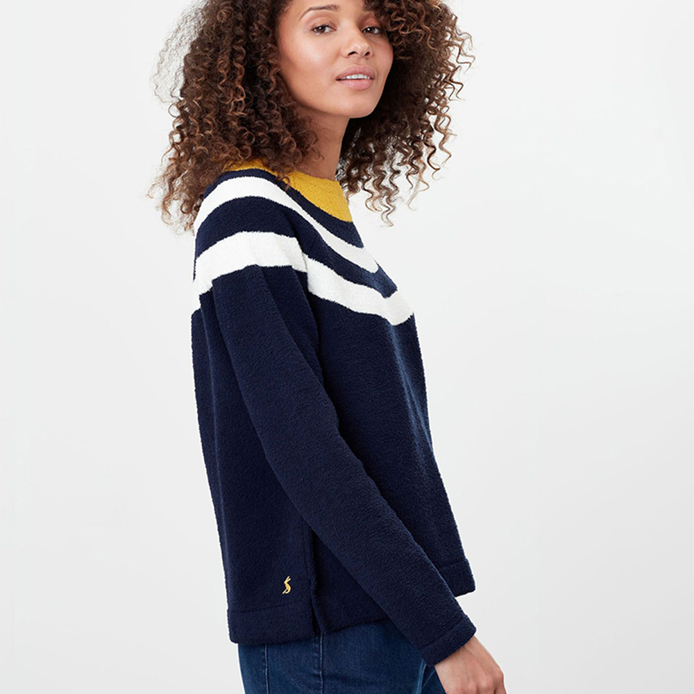 Joules Seaport Knitted Chenille Raglan Jumper