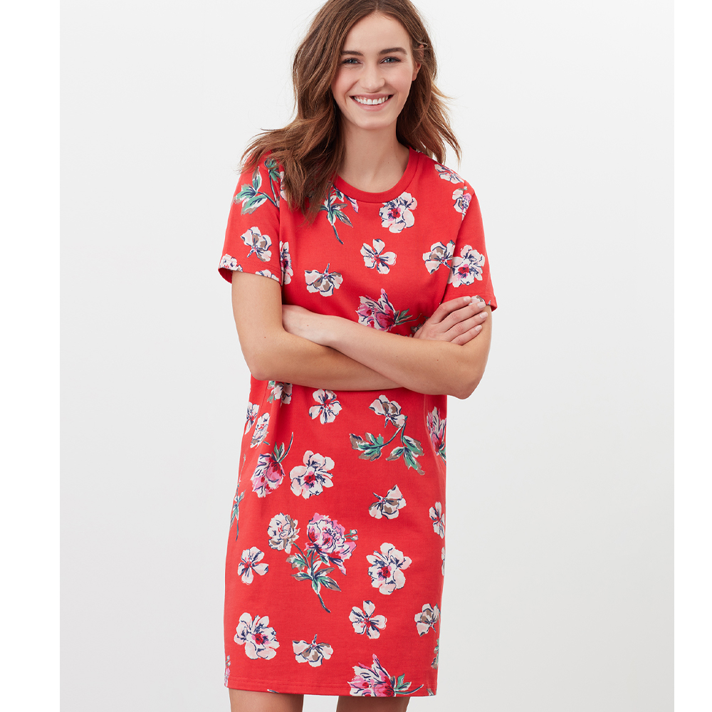 Joules Liberty Print A line Jersey Dress