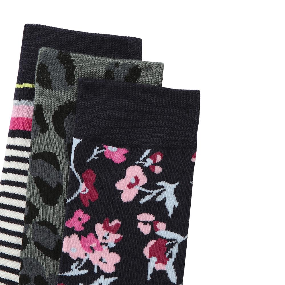 Joules 3pk Printed Socks
