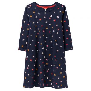 Joules Helena Faux Fur Dressing Gown