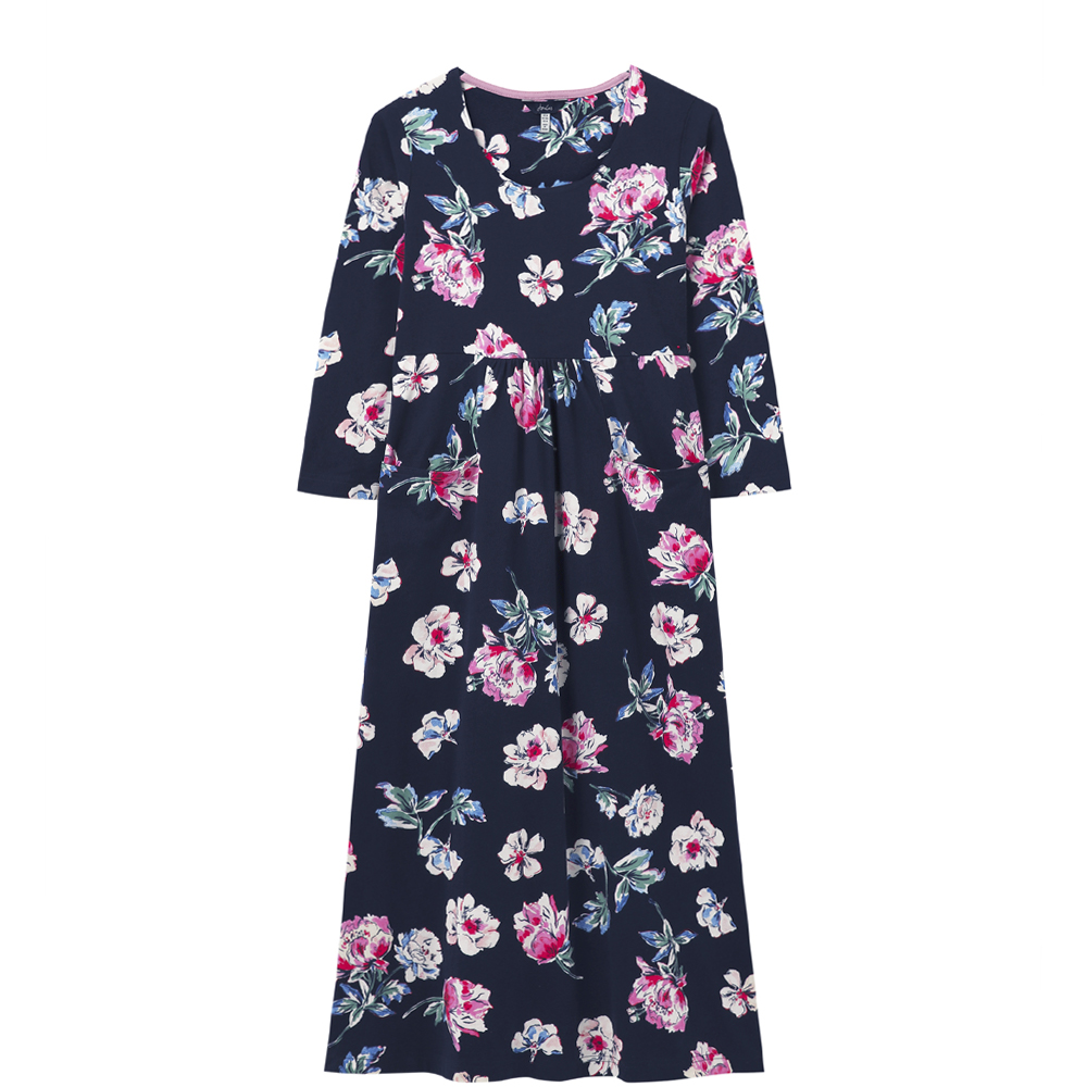 Joules Audrey Midi Dress With Pockets