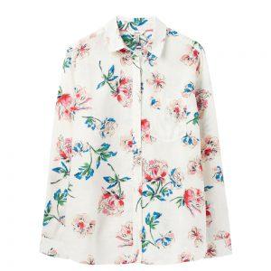 Joules Longline Linen  Shirt