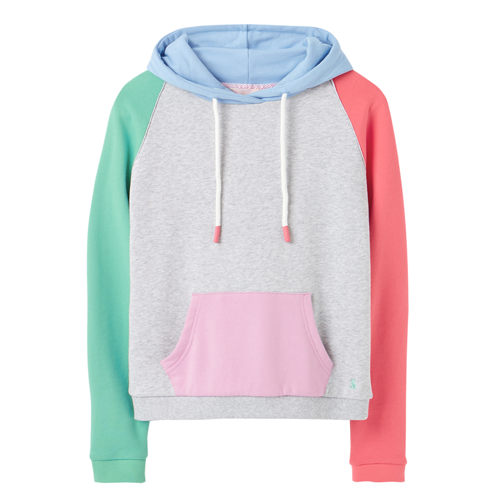 Joules Raglan Hooded Sweatshirt
