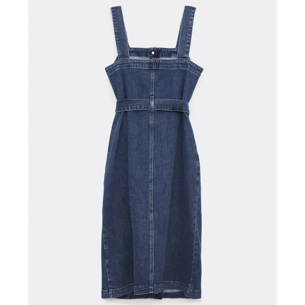 Joules Farrow Denim Pinafore Dress