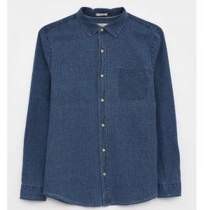 Denim Shirt  Mid Blue/LARGE